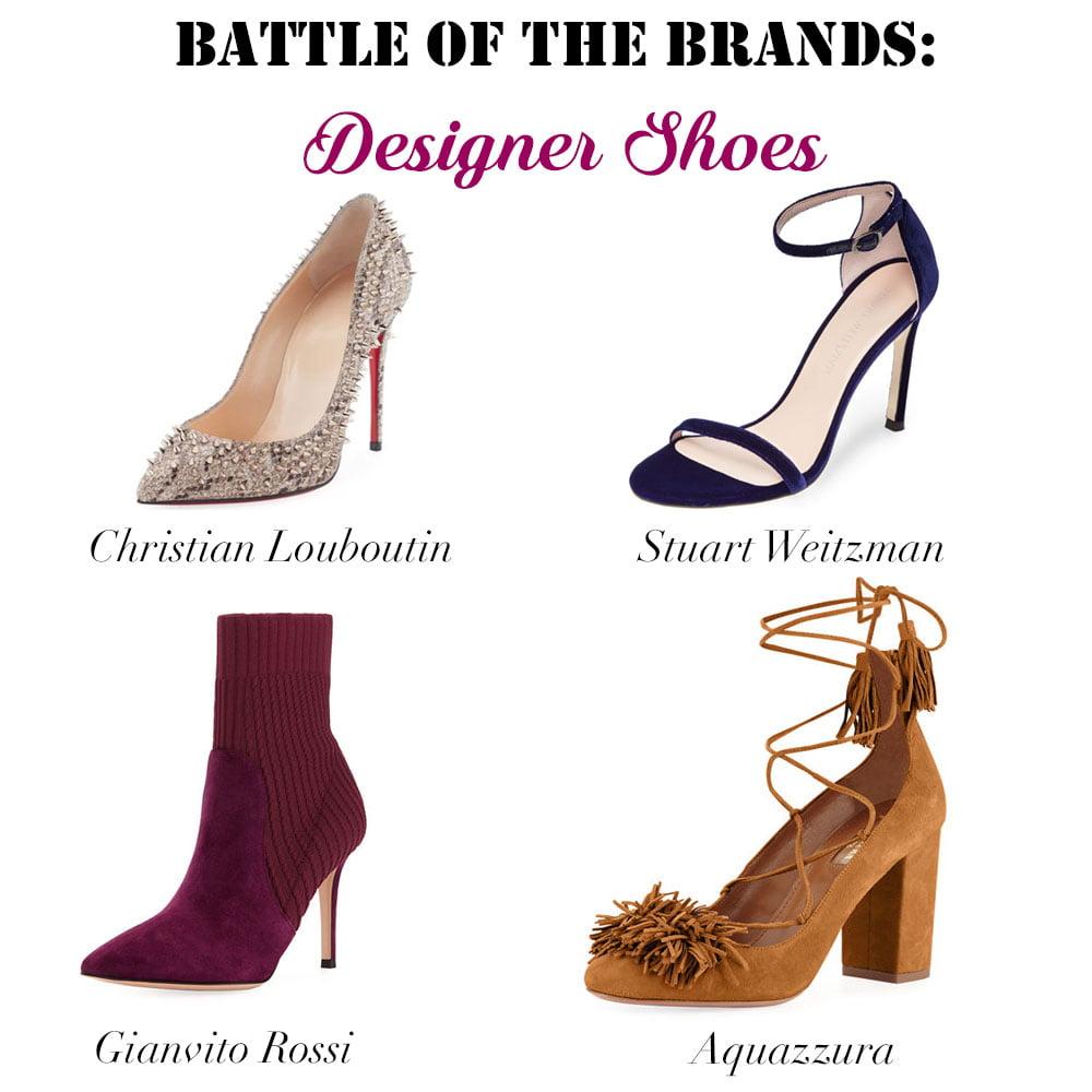 Battle of the Brands Designer Shoes