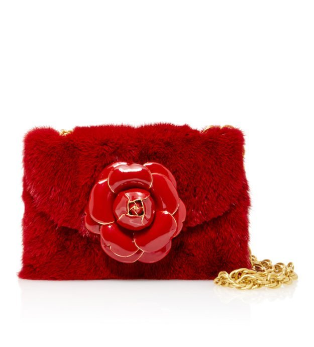 large_oscar-de-la-renta-red-mink-rose-shoulder-bag