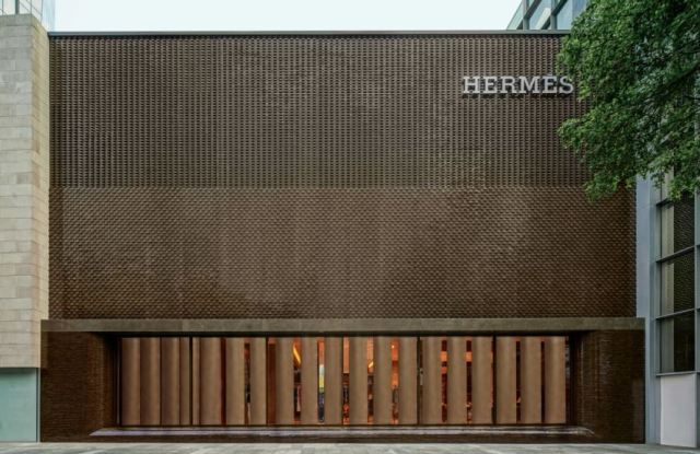 Hermès store in Guangzhou, China.
