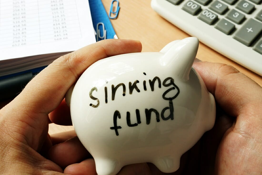 Sinking Fund before luxury expenses