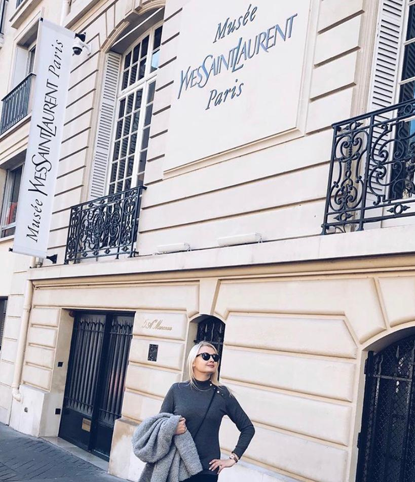 YSL Boutique Paris