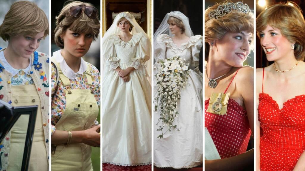 Diana's fashion evolution