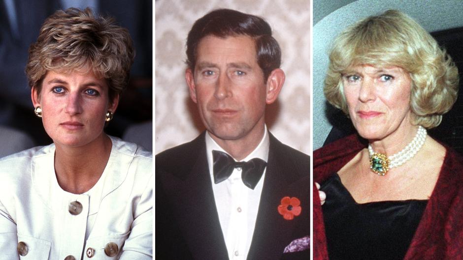 Diana, Charles and Camilla