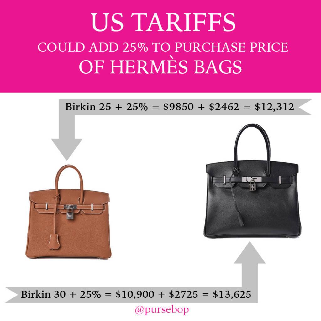 US Tariff on Luxury Goods