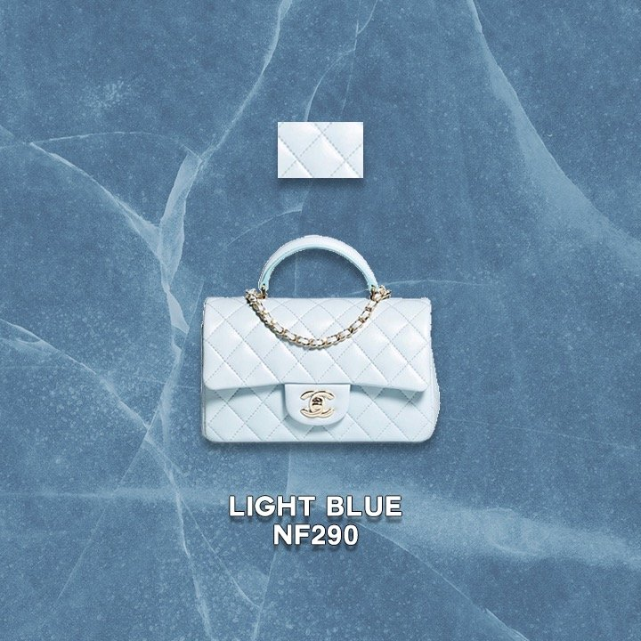 chanel new colors fall 21A 2021 light blue NF290