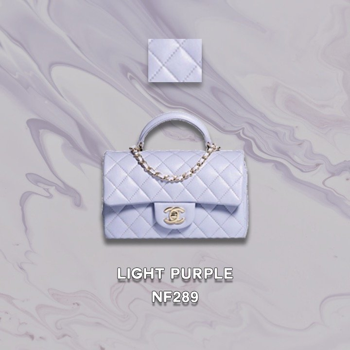chanel new colors fall 21A 2021 light purple NF289